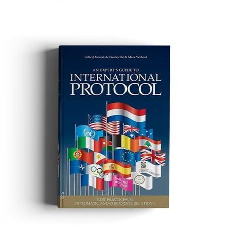 Boek cover - An expert's guide to International Protocol, te koop in de webshop