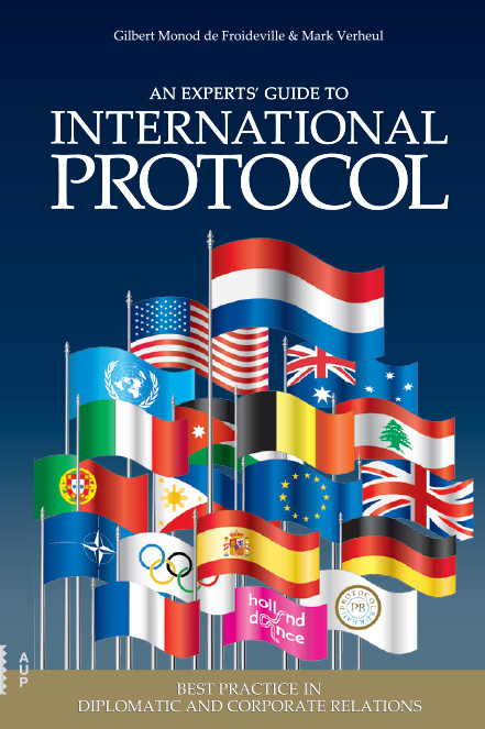 Bookcover - An expert's guide to International Protocol