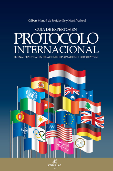 Boek cover - Protocolo Internacional - front book cover spanish version