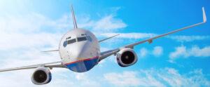 Vliegtuig - ter illustratie bij zoekmachine optimalisatie