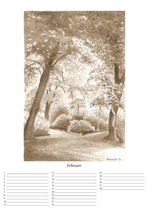 Product: Kalender Clingendael, te koop in de webshop