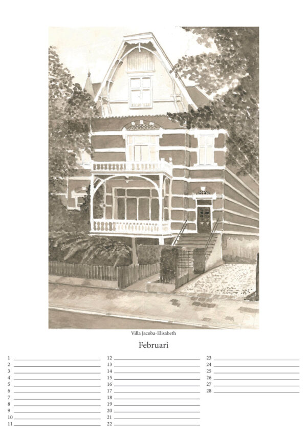 Product Kalender - Belgisch park - Den Haag - online te koop