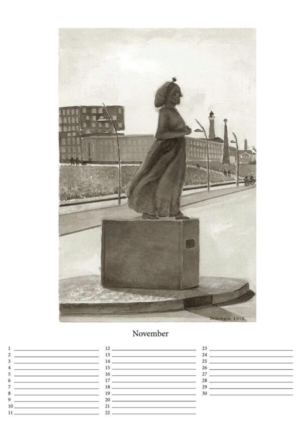 Product Kalender - Scheveningen toen en nu - online te koop