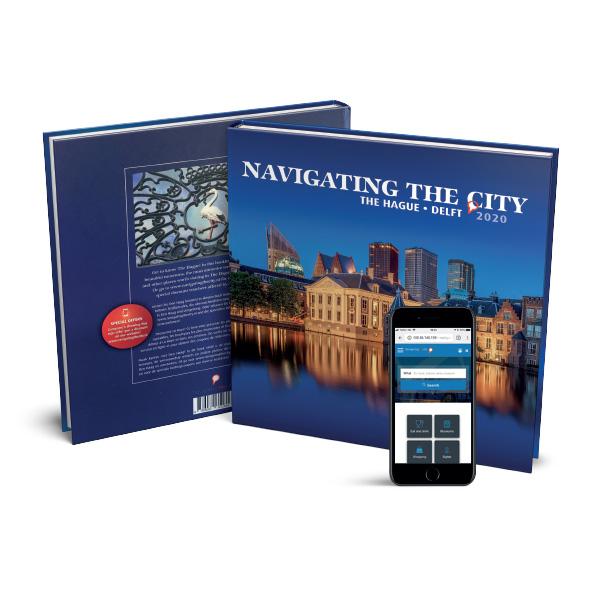 Voorbeeldpagina boek Navigating the City 2020 - Den Haag en Delft