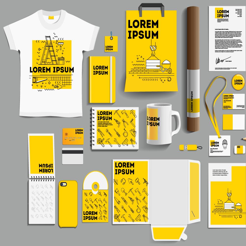 Voorbeelden van speciale bedrukte items - shirts - mokken - verpakkingen - telefoonhoesjes - keycords...