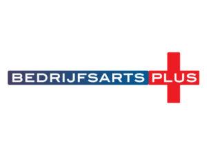 Logo BedrijfsartsPlus Den Haag - ontworpen door VoordenBakker