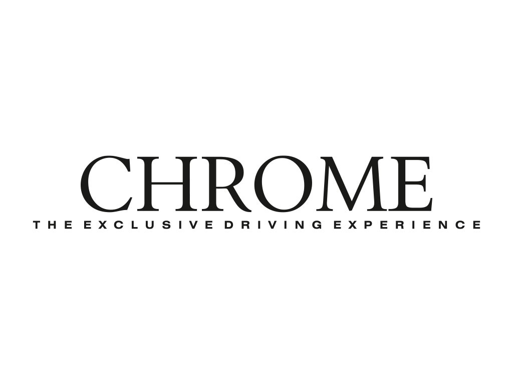 Logo Chrome, the exclusive driving experience