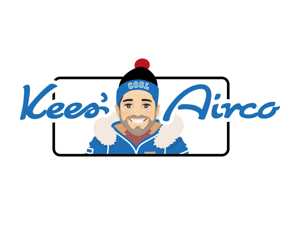 logo Kees' Airco - Ontworpen door VoordenBakker