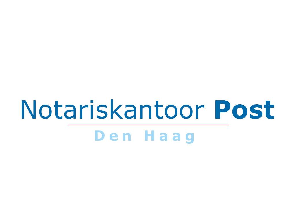 Logo Notariskantoor Post, Den Haag