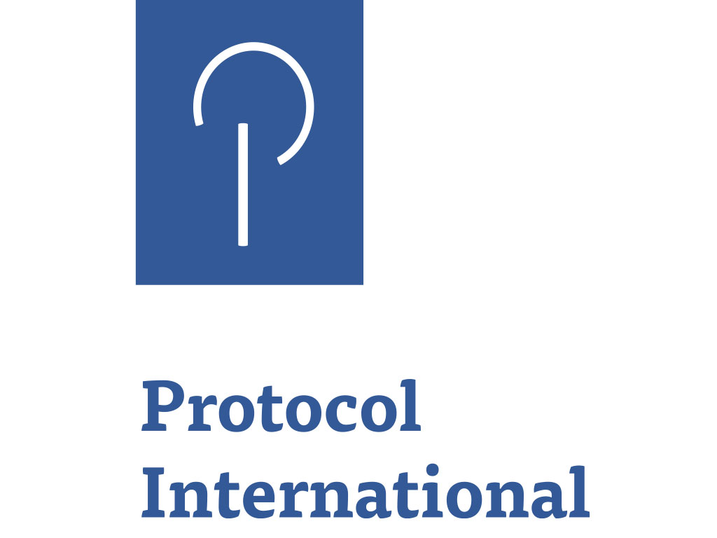 Logo Protocol International, Den Haag
