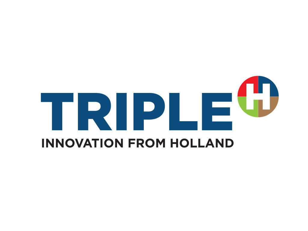 Logo Triple H - Innovation from Holland