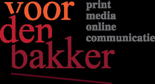 Logo VoordenBakker Communicatie, Den Haag