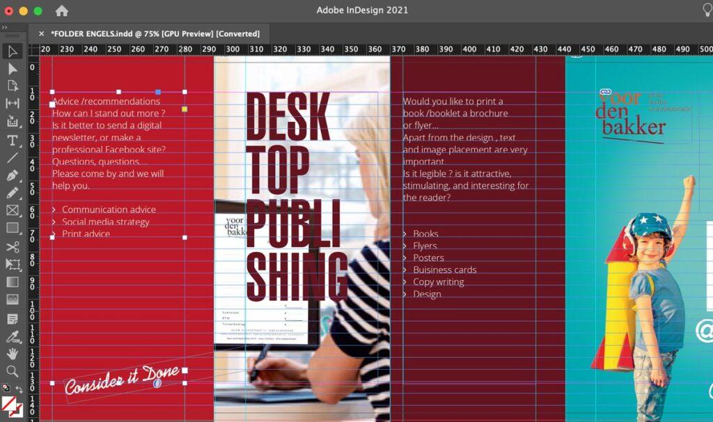 DTP Desktop Publishing - Een dienst van VoordenBakker
