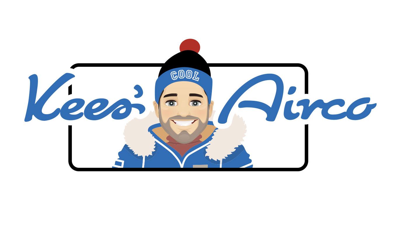 Logo Kees Airco Almere - ontworpen door VoordenBakker